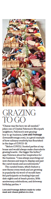 805 Living September 2020, Grazing to Go, story by Leslie Dinaberg.