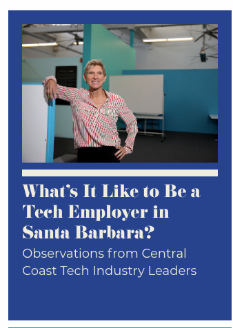 HG Insights' Elizabeth Cholawsky, photo by Daniel Dreifuss for Santa Barbara Independent.