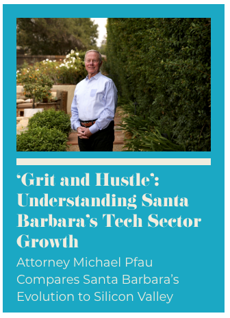 Michael Pfau, photo by Daniel Dreifuss for Santa Barbara Independent.