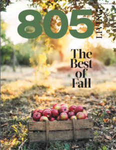 805 Living Cover, October 2020.
