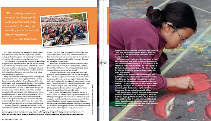 Originally published in the spring 2010 issue of Santa Barbara SEASONS magazine.