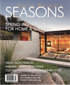 Santa Barbara Seasons Spring 2010 cover