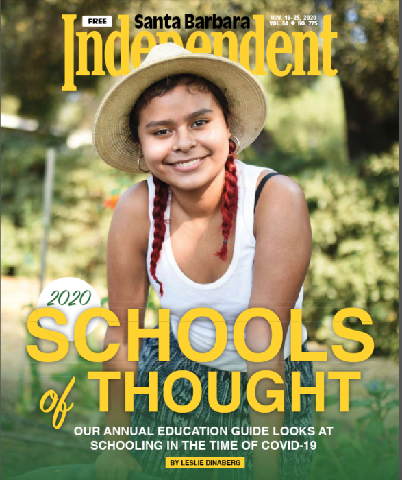SB Independent Cover, Schools of Thought, November 19, 2020.