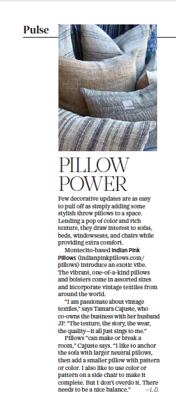 Pillow Power originally appeared in the April 2021 issue of 805 Living Magazine.