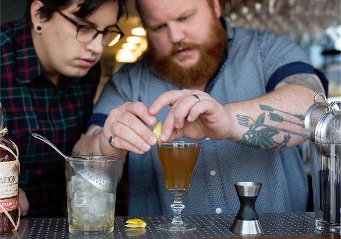 As part of Hotel Californian's Constellation Pop Up Weekend, Bittercube co-founder Ira Koplowitz will host a mixology class, complete with cocktail tasting and curated snacks. Courtesy photo.
